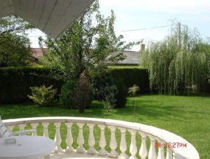 abádszalóki szállás balkon kert 1